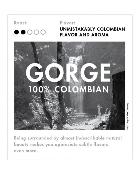 GORGE 100% COLOMBIAN WHOLE BEAN 6 LB. main image
