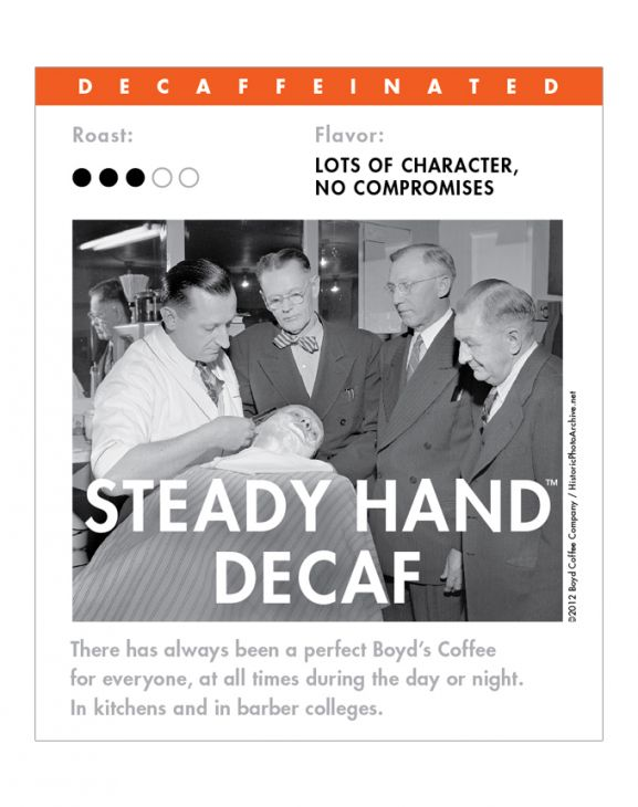 STEADY HAND DECAF WHOLE BEAN 6 LB main image