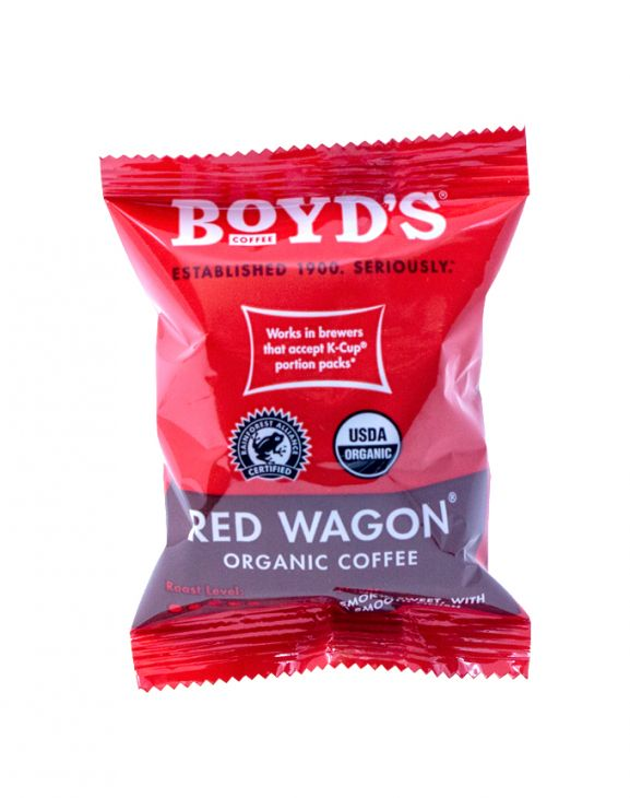 RED WAGON: 80 CT. COMPOSTABLE SINGLE PODS main image