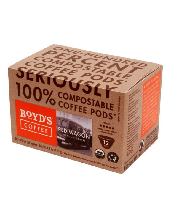 RED WAGON: 12 CT. COMPOSTABLE SINGLE PODS main image