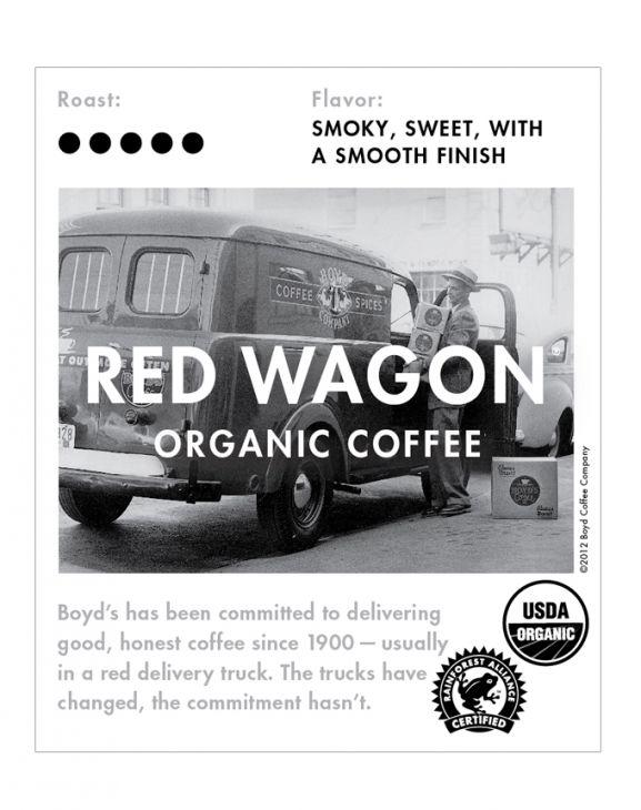 RED WAGON WHOLE BEAN COFFEE: 5 LB. main image