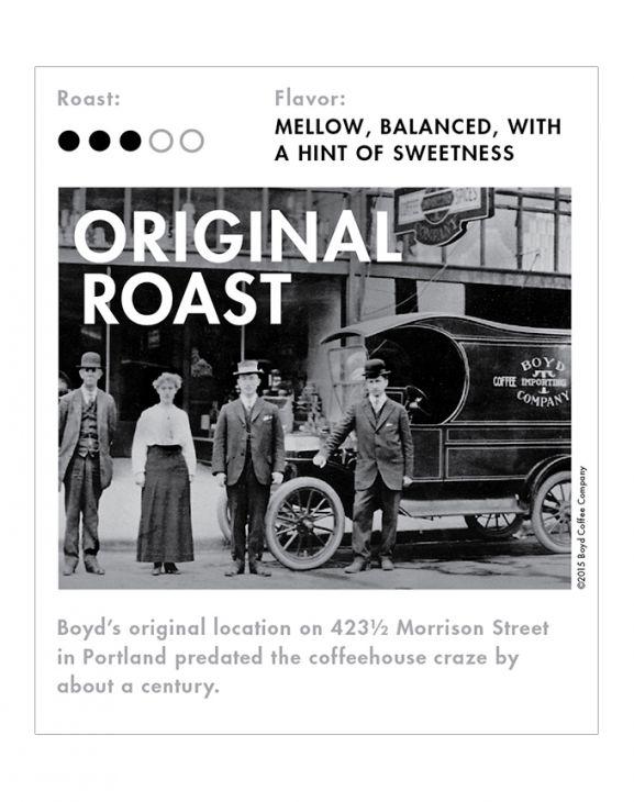 ORIGINAL ROAST WHOLE BEAN COFFEE: 5 LB. main image