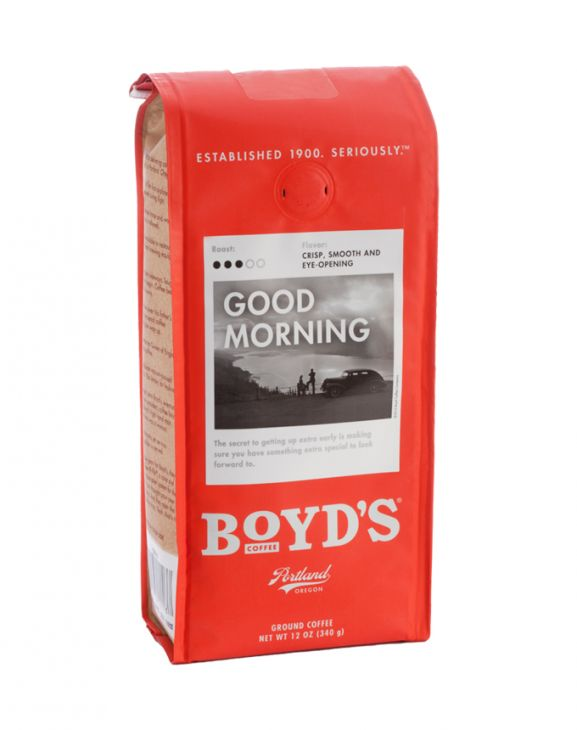GOOD MORNING: 12-OZ. GROUND - Temporarily Out-of-stock main image
