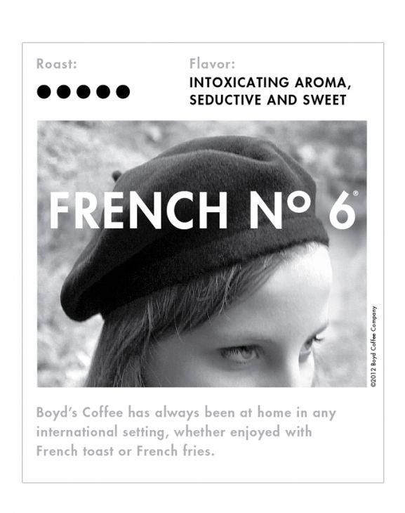 FRENCH NO. 6 WHOLE BEAN COFFEE: 5 LB. main image