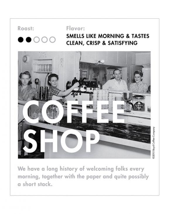 COFFEE SHOP WHOLE BEAN COFFEE: 6 LB main image