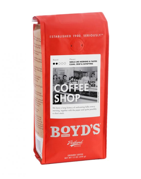 COFFEE SHOP: 12-OZ. GROUND main image
